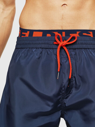 Diesel - BMBX-DOLPHIN-S 2.017, Dark Blue - Swim shorts - Image 3