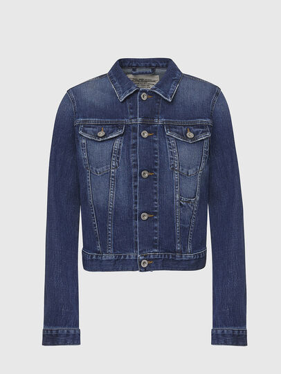 Diesel - DE-LIMMY, Dark Blue - Denim Jackets - Image 1