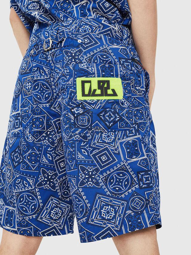 Diesel - P-FRANK-DNM-SHORT-P, Blue - Shorts - Image 4