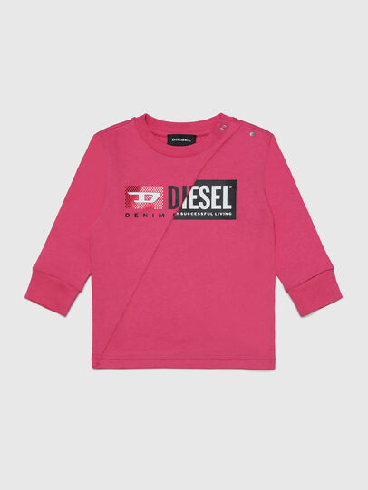 Diesel - TDIEGOCUTYB-FL ML, Pink - T-shirts and Tops - Image 1
