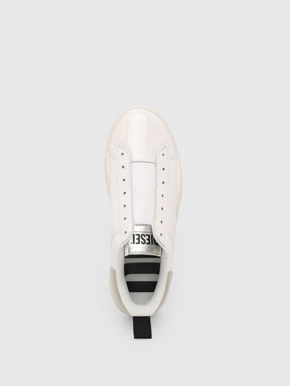 Diesel - S-CLEVER SO W, White/Silver - Sneakers - Image 6