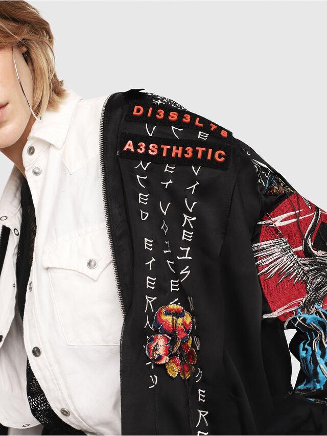 ea3b87faf406 G-FRANK-F Women  Souvenir jacket with tape detail