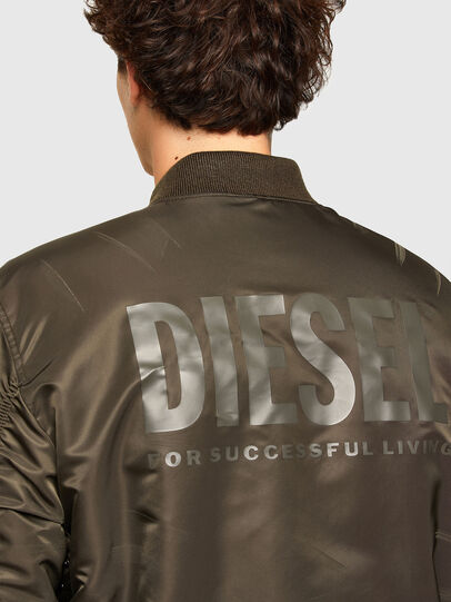 Diesel - J-ROSS-REV, Brown - Jackets - Image 4