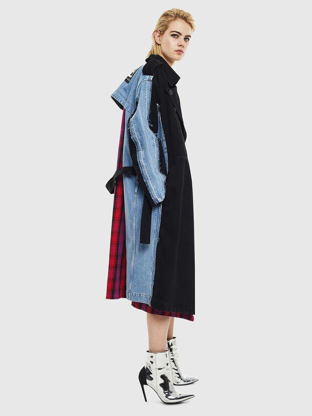 DE-PRAVU, Black/Blue - Denim Jackets
