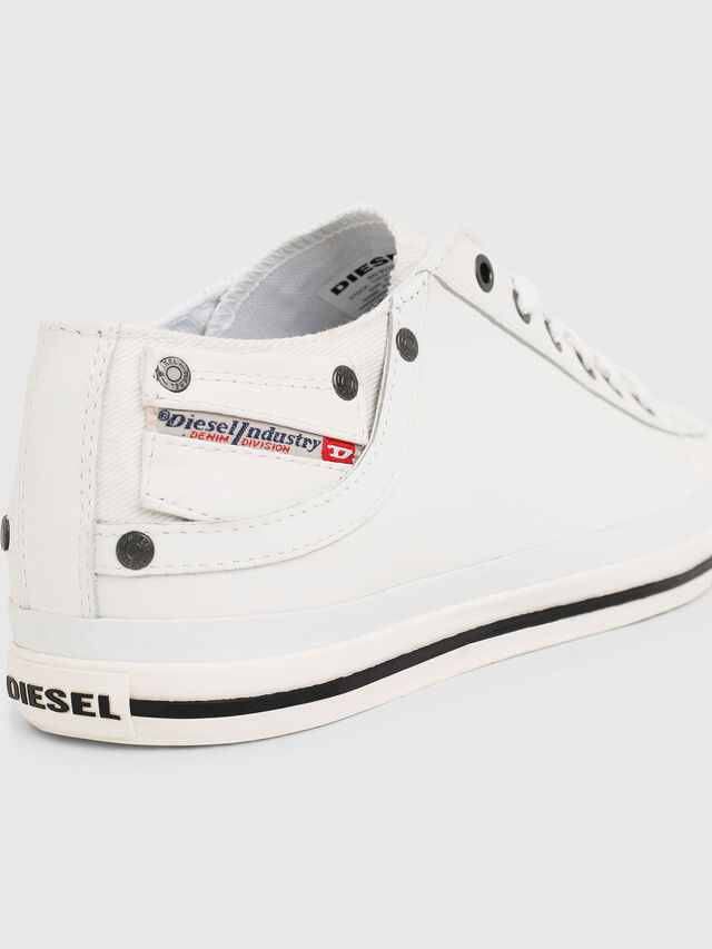 Diesel EXPOSURE LOW I, White - Sneakers - Image 4