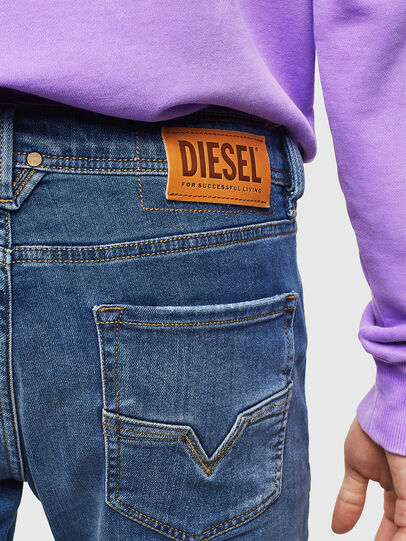 Diesel - Larkee 0097X, Medium blue - Jeans - Image 5