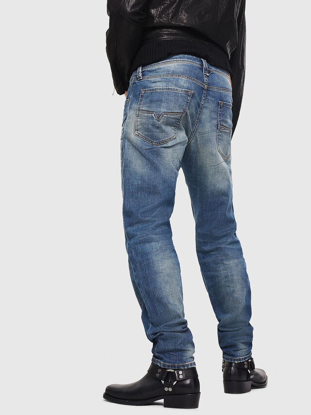 Diesel - Larkee-Beex 089AR, Dark Blue - Jeans - Image 2