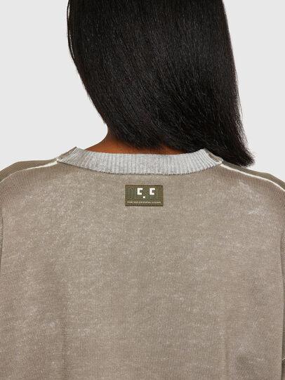 Diesel - M-CAROLINA, Light Grey - Knitwear - Image 3