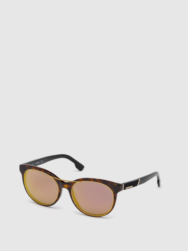 Diesel DL0213, Brown - Eyewear - Image 4