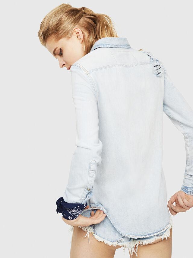 Diesel - DE-BANDY, Blue Jeans - Denim Shirts - Image 2