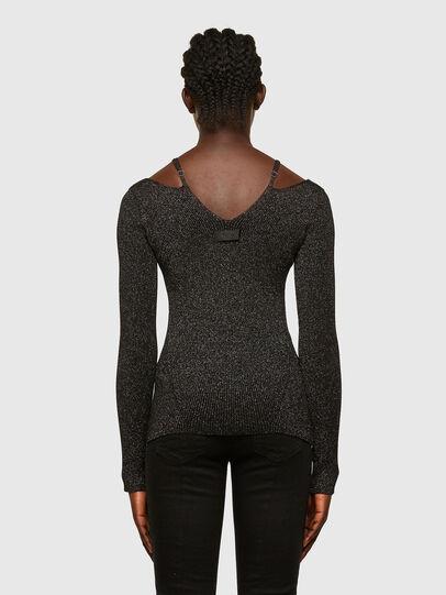 Diesel - M-AMBER, Black - Knitwear - Image 2