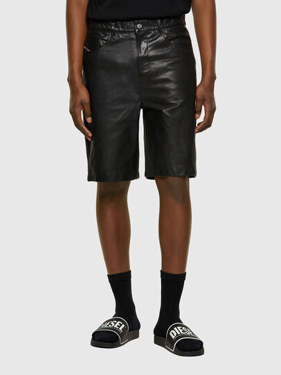 Diesel - P-MACS-SHORT, Black - Pants - Image 1