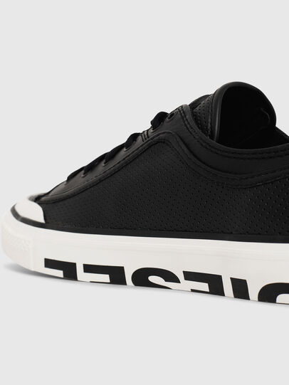 Diesel - S-ASTICO LOW LOGO, Black - Sneakers - Image 4