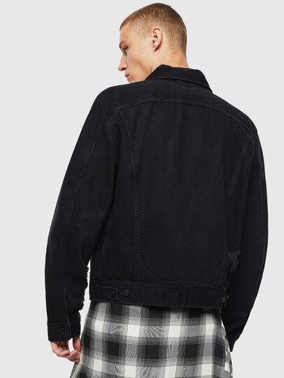 Diesel - D-BRAY, Black - Denim Jackets - Image 2