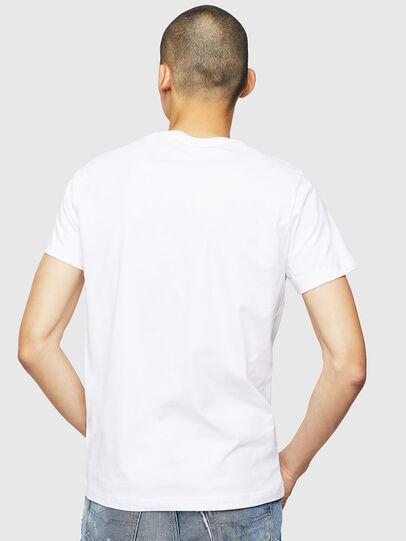 Diesel - T-DIEGO-B5, White - T-Shirts - Image 2