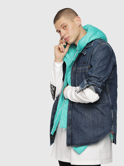 Diesel - D-FRED,  - Denim Shirts - Image 3