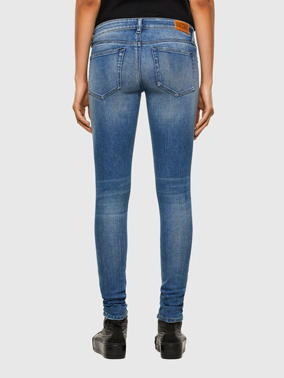 Diesel - Slandy Low 009JI, Light Blue - Jeans - Image 2