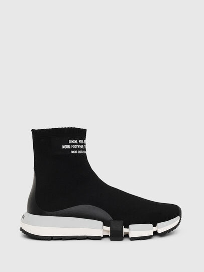 Diesel - H-PADOLA HIGH SOCK W, Black - Sneakers - Image 1