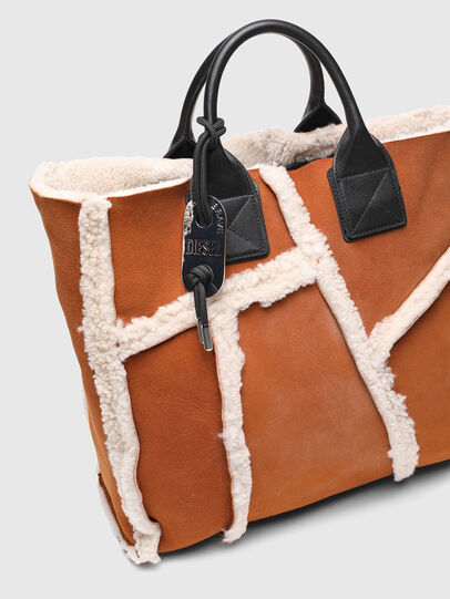 Diesel - DHALIA L, Light Brown - Shopping and Shoulder Bags - Image 5