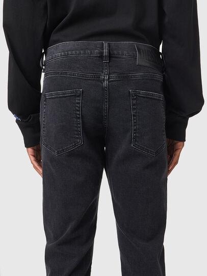 Diesel - D-Strukt 09A14, Black/Dark grey - Jeans - Image 4