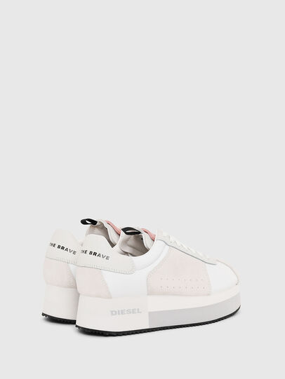 Diesel - S-PYAVE WEDGE, White/Pink - Sneakers - Image 3