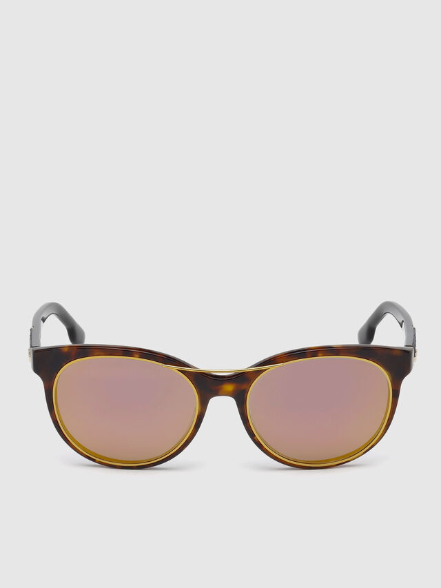Diesel DL0213, Brown - Eyewear - Image 1