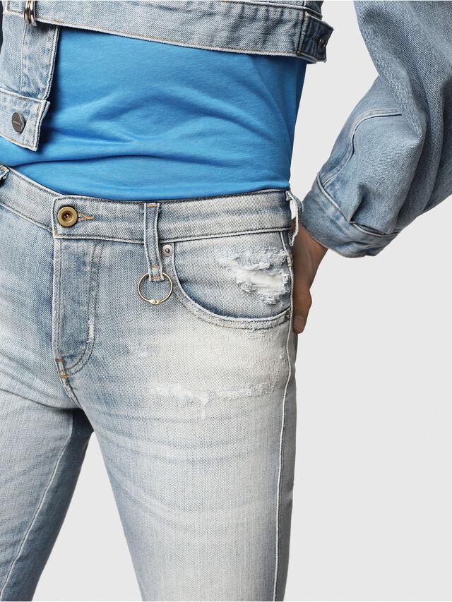 Diesel - Babhila 081AJ, Light Blue - Jeans - Image 3