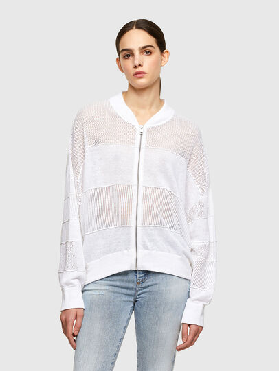 Diesel - M-ALEXA, White - Knitwear - Image 1