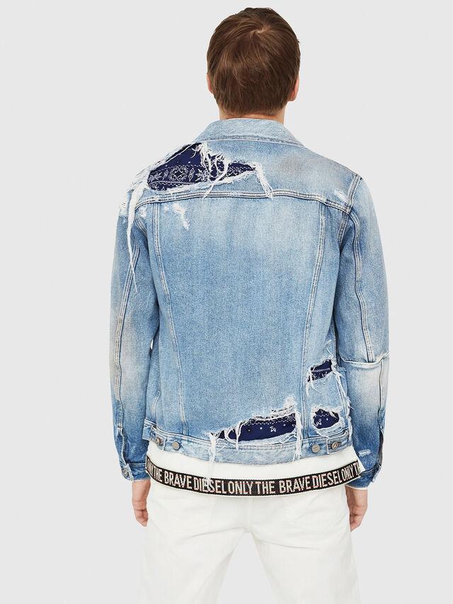 Diesel - NHILL-TM, Blue Jeans - Denim Jackets - Image 2
