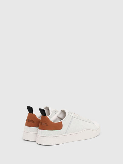 Diesel - S-CLEVER LOW LACE, White/Brown - Sneakers - Image 3
