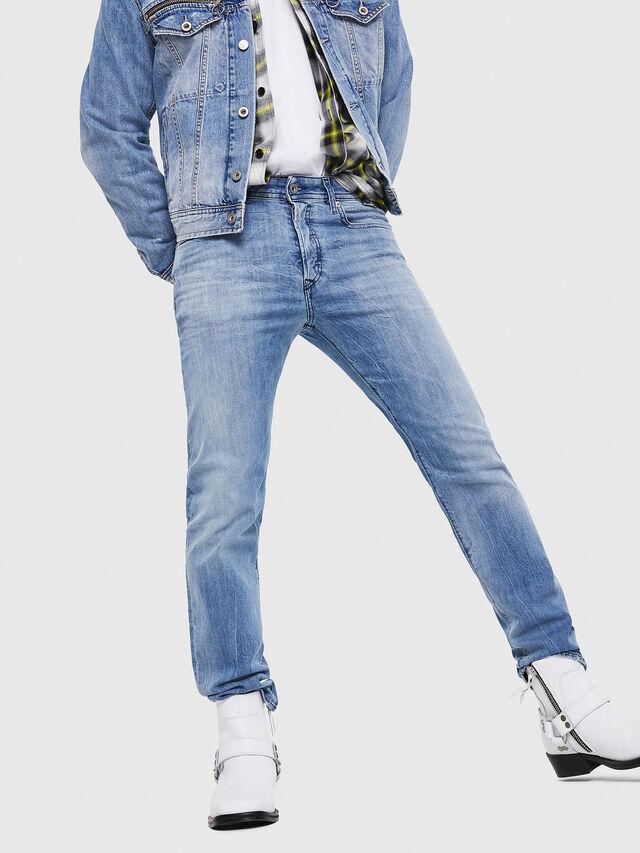 Diesel - Buster 081AL, Light Blue - Jeans - Image 4