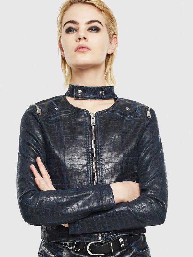 D-MAYLA-SX-T, Dark Blue - Denim Jackets