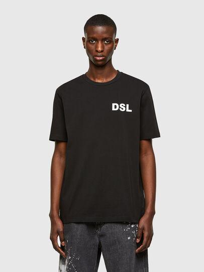 Diesel - T-JUST-E10, Black - T-Shirts - Image 1