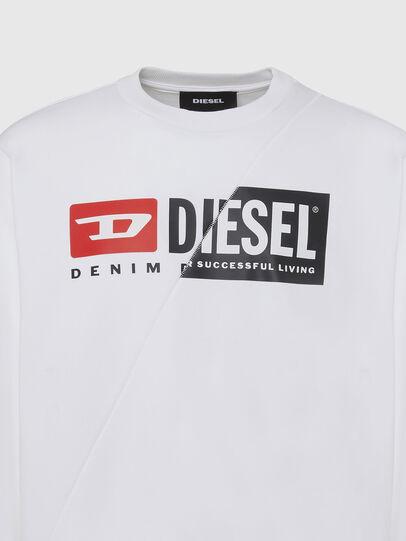 Diesel - S-GIRK-CUTY, White - Sweaters - Image 3