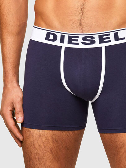 Diesel - UMBX-SEBASTIANTHREEP, Blue/White - Boxer briefs - Image 4