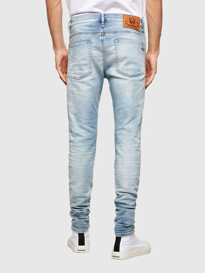 Diesel - D-Reeft JoggJeans® 069UC, Light Blue - Jeans - Image 2