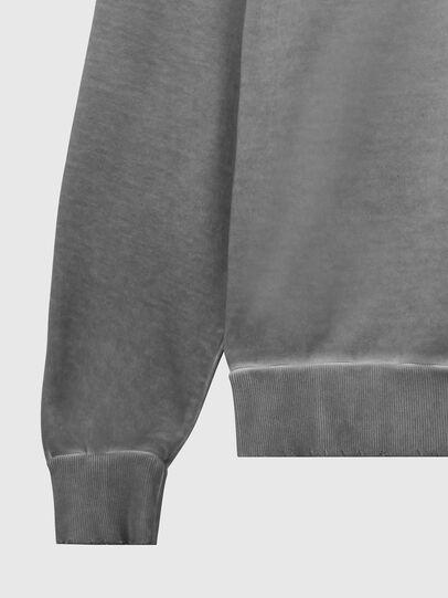 Diesel - S-GIR-HOOD-DIVISION-, Grey - Sweaters - Image 4