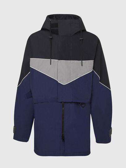 Diesel - W-KOON, Blue/Grey - Winter Jackets - Image 1