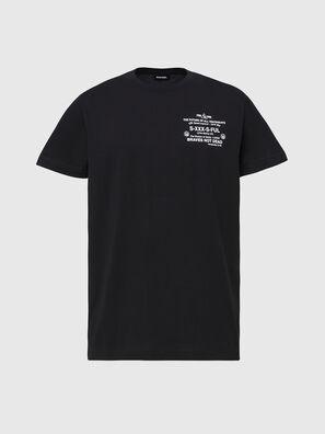 T-DIEGOS-X44, Black - T-Shirts