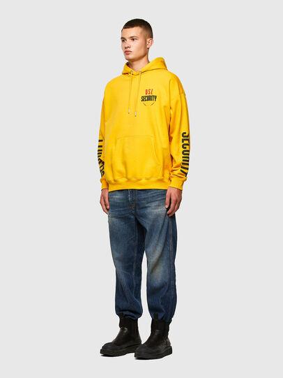 Diesel - S-UMMER-N72, Yellow - Sweaters - Image 5