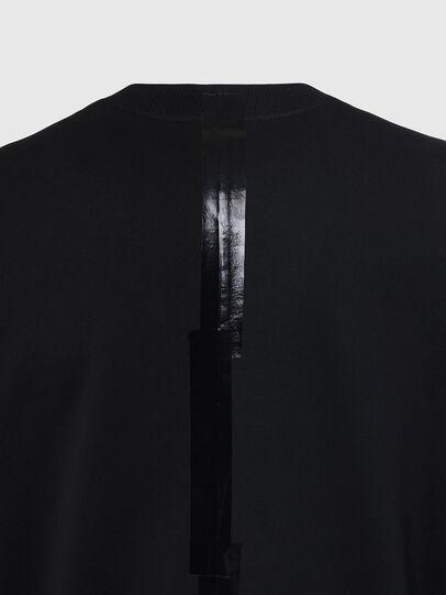 Diesel - S-BIAY-SPLIT, Black - Sweaters - Image 4