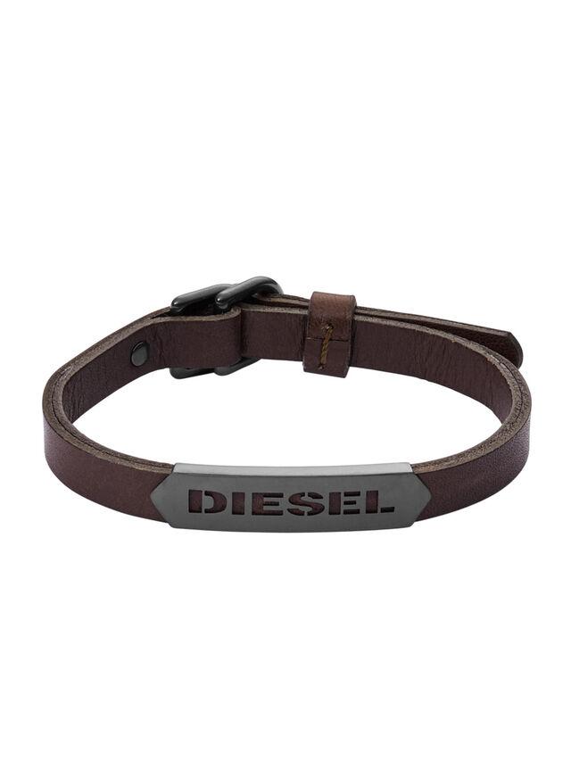 Diesel BRACELET DX1000, Brown - Bracelets - Image 1