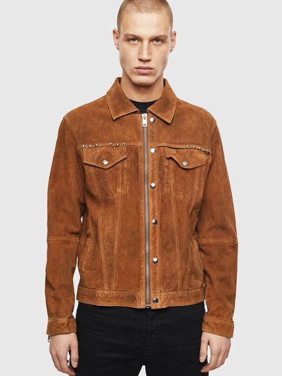 Diesel - L-DEAN,  - Leather jackets - Image 1