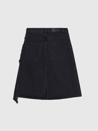 Diesel - DE-TOBY, Black - Skirts - Image 2