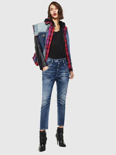 Diesel - Fayza JoggJeans 0096M, Dark Blue - Jeans - Image 5