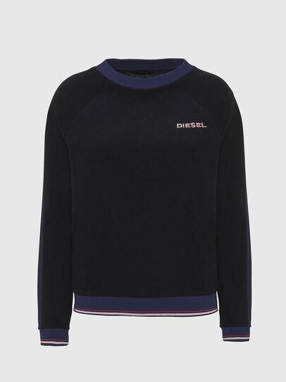 Diesel - UFLT-LESIA, Black - Sweaters - Image 1