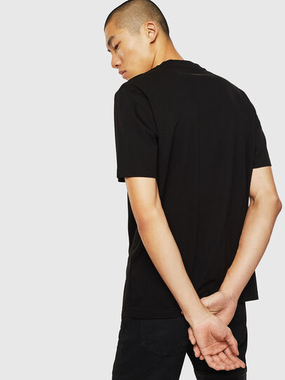Diesel - T-JUST-J10, Black - T-Shirts - Image 2