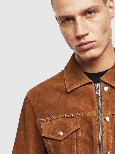 Diesel - L-DEAN,  - Leather jackets - Image 3