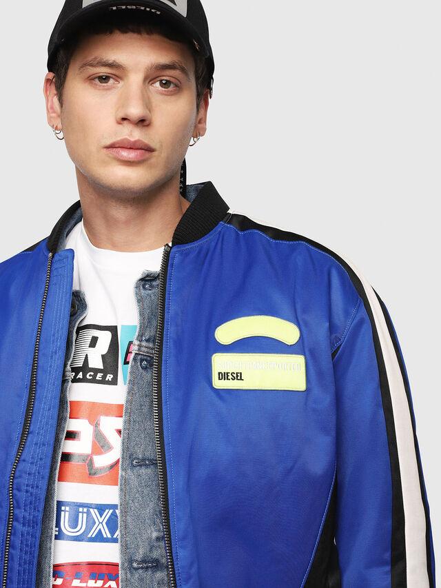 Diesel - J-RYUU, Blue - Jackets - Image 5