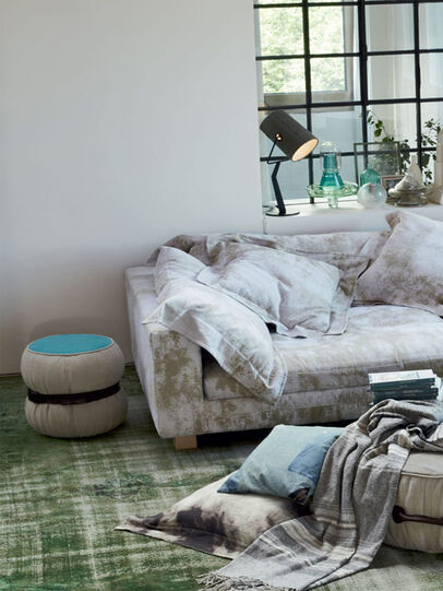 Diesel - CHUBBY POUF 100, Multicolor  - Furniture - Image 1